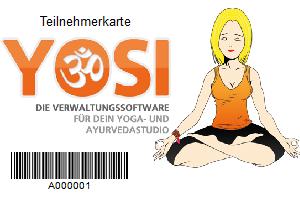 Teilnehmerkarte für YoSi