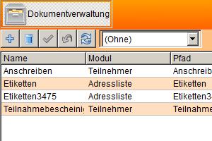 Modul Dokumentenverwaltung in YoSi